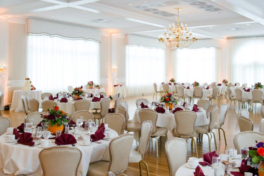 Nashua Wedding Reception - Ballroom